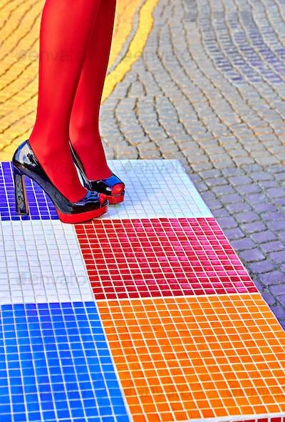 Fashion urban, heels