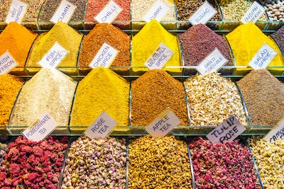 Spices at the spice market