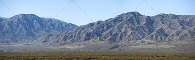 cenic view of mountains in San Juan, Argentina