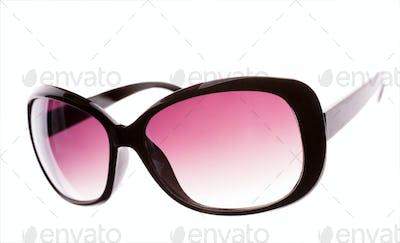 Pink female sunglasses