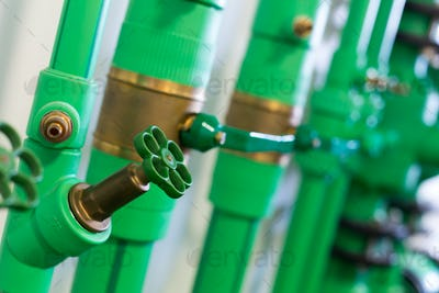 Pipes and valves