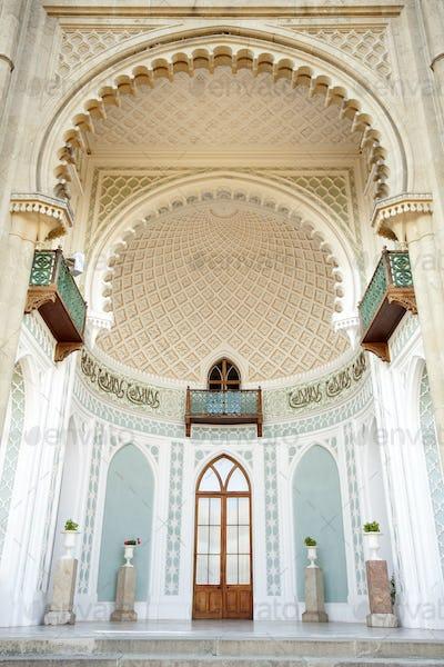 Luxury medieval palace
