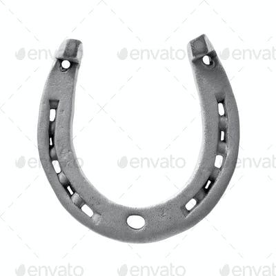 Horseshoe isolated on white
