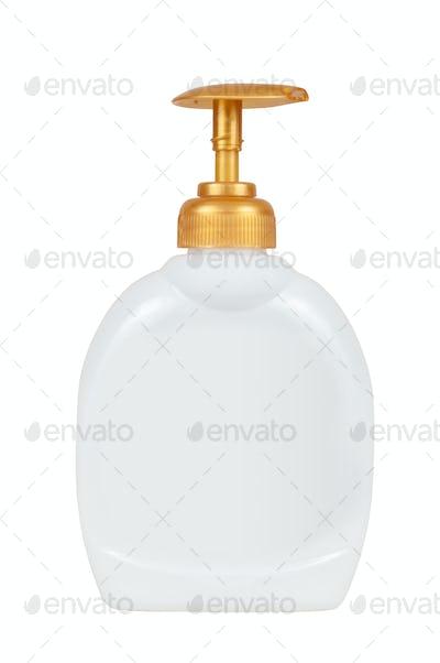 Blank liquid soap dispenser