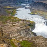 The Jokulsargljufur valley, Iceland