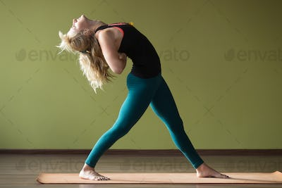 Variation of Standing Backward Bend