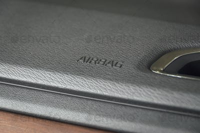 Business car airbag panel