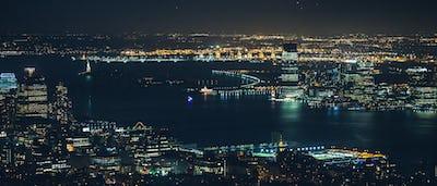 manhattan new york city night