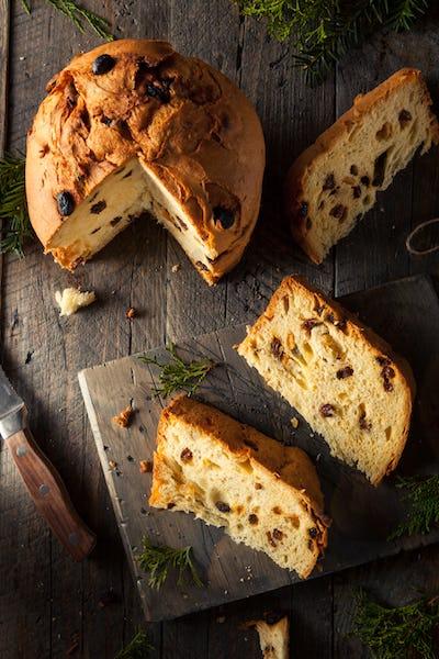 Homemade Christmas Even Panettone Bread