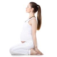 Prenatal Yoga, Seiza