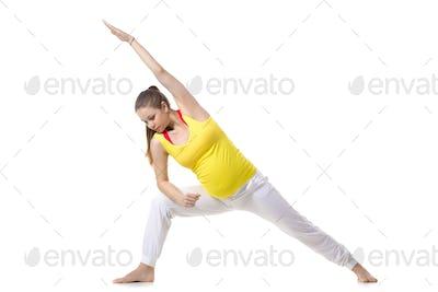 Prenatal Yoga, Extended Side Angle Pose