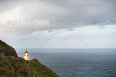 Makapuu Lighthouse Southwest Shore Oahu Hawaii Nautical Maritime