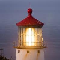 Makapuu Lighthouse Southwest Shore Oahu Haiwaii Nautical Maritime