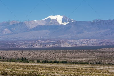 Pampa El Leoncito National Park with the Aconcagua, Argentina