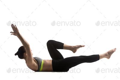 Single leg stretch Exercise
