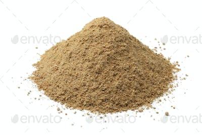 Heap of ground Thai ginger