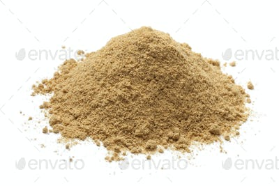 Heap of ground ginger