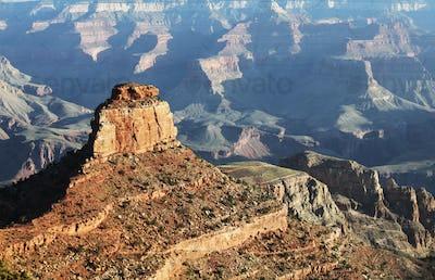 Grand canyon on sunrise