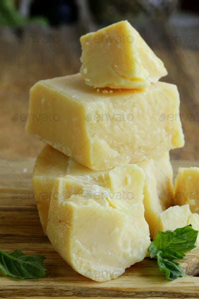 Hard Natural Parmesan Cheese