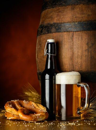 Beer and Pretzel
