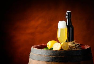 Radler Beer and Lemon