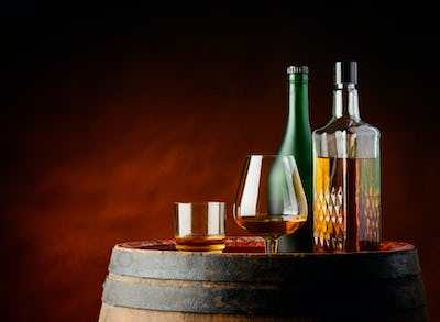 Cognac and Whisky