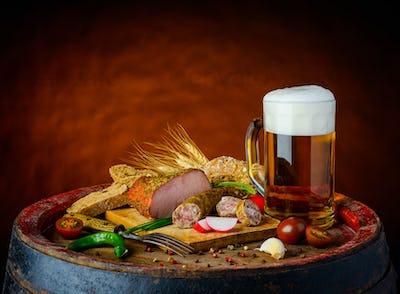 Beer and Rustic Food