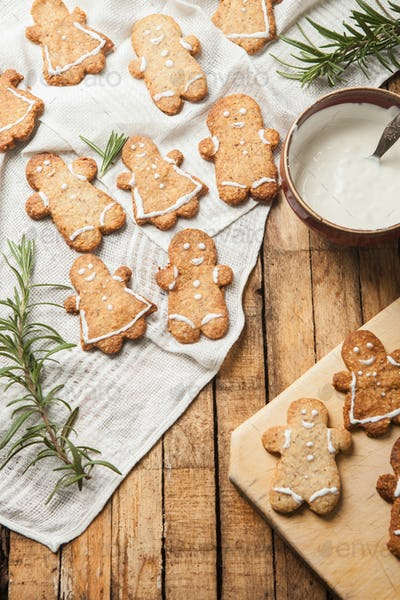 The funny homemade sugar cookie
