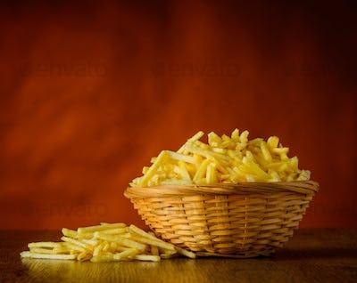 Potato Sticks in Still-Life