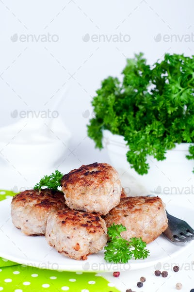 homemade fried cutlets
