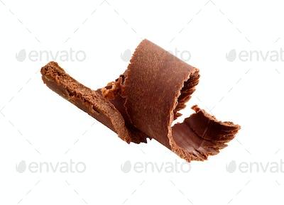 Chocolate curl