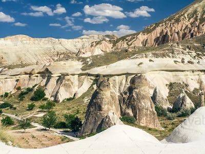 A valley in Cappadocia, Cental Turkey