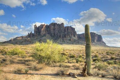 Superstition Mountain in Arizona