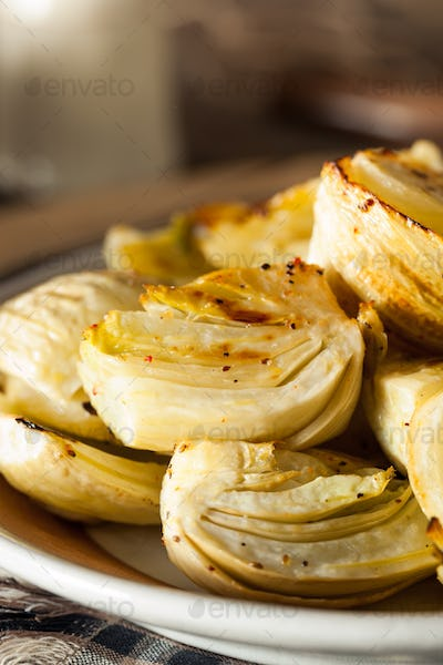 Organic Baked Fennel Bulbs