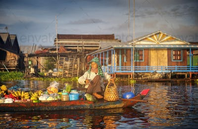 Combodia Culture Nature Person Poverty Concept