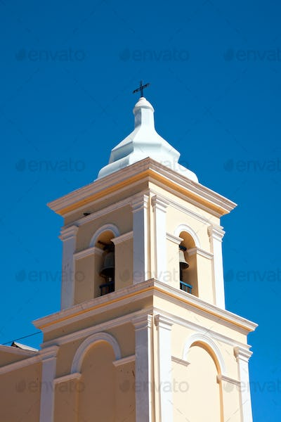 Tower of a rural church