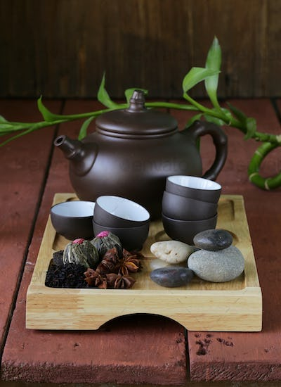 Set for a Traditional Tea Drinking