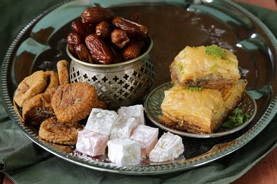 Assorted Eastern Sweets