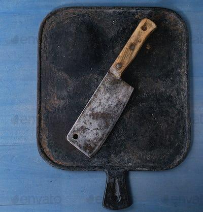 Vintage butcher cleaver