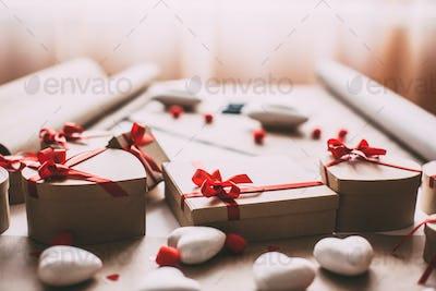 Beautiful stylish gift boxes.
