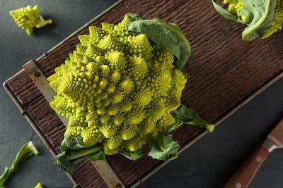 Raw Green Organic Romanesco