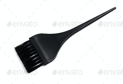 Nylon bristle hair dye brush