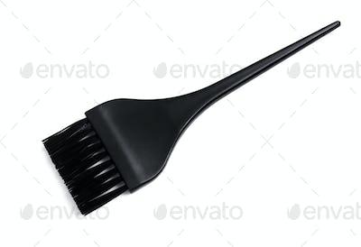Nylon bristle hair dye brush