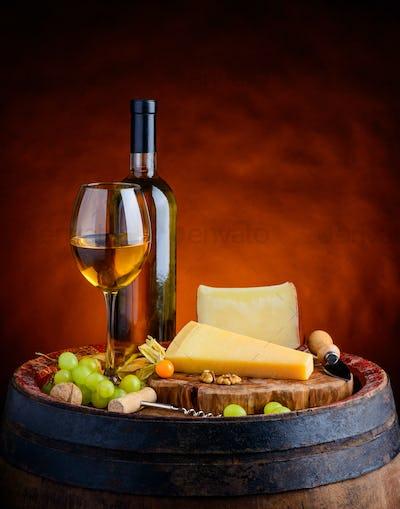 Parmesan, Gouda and White Wine