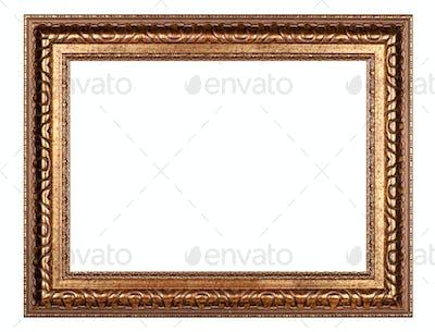 Old gold frame