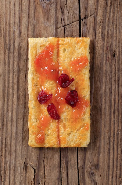 Crispbread and jam
