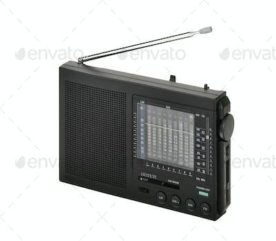Old vintage radio receiver