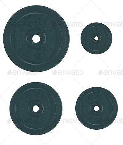 Disks for dumbbells
