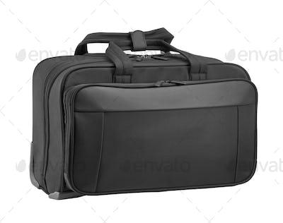 a textile briefcase for laptop