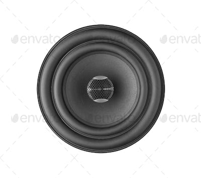 Speaker isolated on white
